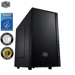 CoolerMaster Silencio 352 Black Matt Edition USB3 MicroATX Mini-ITX Case