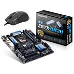 Gigabyte Z87X-UD3H S1150 Intel Z87 DDR3 ATX + Free M8000X High-Performance Laser Gaming Mouse Bundle
