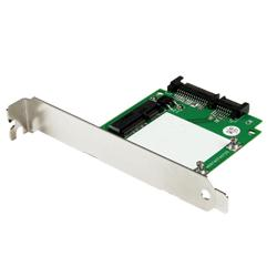StarTech.com SATA to mSATA SSD Adapter w/ Full and Low Profile Brackets – SATA to Mini SATA