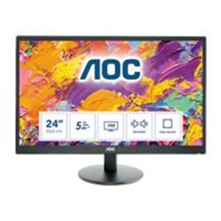 "AOC E2470SWDA 23.6"" 1920x1080 5ms VGA DVI-D LED Monitor"