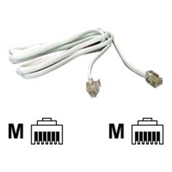 Cables Direct Phone Cable 3m RJ-11 (6 pin) (M) to RJ-11 (6 pin) (M)