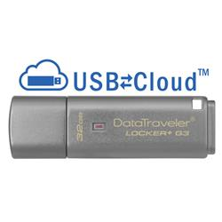 Kingston 32GB DataTraveler Locker+ G3 USB3 Flash Drive GDPR Compliant
