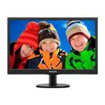"Philips 20"" LED 1600 x 900 Monitor 16:9 600:1 Vesa Black Bezel"
