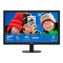"Philips V-line 273V5LHAB 27"" 1920x1080 5ms VGA DVI-D HDMI LED Monitor"