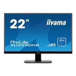 "iiyama ProLite XU2290HS-B1 22"" 1920x1080 5ms VGA DVI-D HDMI LED Black Monitor with Speakers"