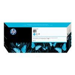 HP 81 680-ml Cyan Dye Ink Cartridge