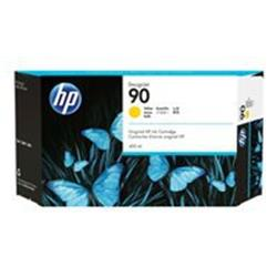 HP 90 3-pack 400-ml Yellow Ink Cartridges