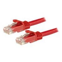 StarTech.com 5m Red Gigabit Snagless RJ45 UTP Cat6 Patch Cable
