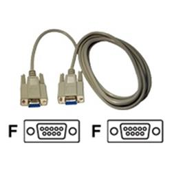 Cables Direct Serial Cable DB-9 (F) to DB-9 (F) - 2m