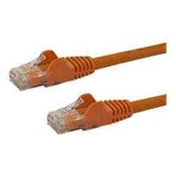 StarTech.com 2m Orange Gigabit Snagless RJ45 UTP Cat6 Patch Cable