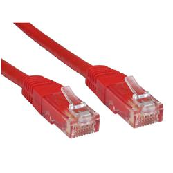 Cables Direct Cat 6 Ethernet Network Cables Red 1m
