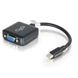 C2G 20cm Mini DisplayPort Male to VGA Female Adapter Black