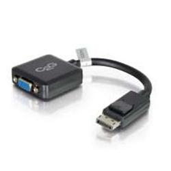 C2G 20cm DisplayPort Male to VGA Female Adapter Converter Black