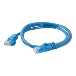 C2G 50m Cat6 Booted Unshielded (UTP) Network Patch Cable – Blue