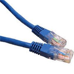 Cables Direct 3mtr  network  6 LSOH patch lead  - moulded - blue - B/Q 100
