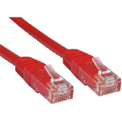 Cables Direct 2m CAT 6 UTP PVC Injected Moulded Cable - Red B/Q 150
