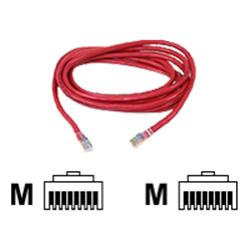 Belkin FastCAT 5e Snagless Patch Cable RJ45M-RJ45M (Red)  5m