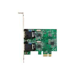 StarTech.com Dual Port Gigabit PCI Express Server Network Adapter Card - PCIe NIC