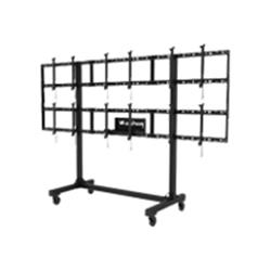 "Peerless-AV Portable Video Wall Cart 3x2 for 46-55"" Displays"