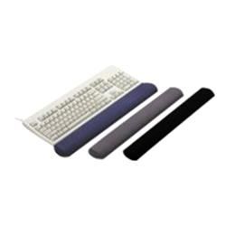 3M Fabric Black Gel Wrist-Rest for Keyboard