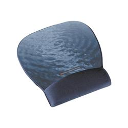 3M Precise Mousing Surface with Blue-Water Fabric Gel Wrist-Rest