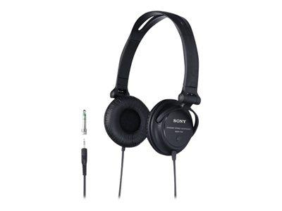 Sony MDR V150 - Headphones ( ear-cup ) - black