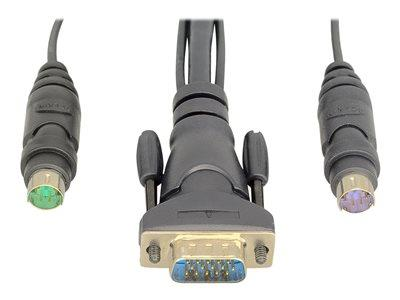 Belkin OmniView Dual-Port PS/2 KVM Cable 1.8m