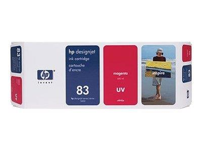 HP 83 680-ml Magenta UV Ink Cartridge