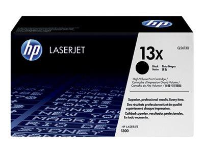 HP 13X High Yield Black Original LaserJet Toner Cartridge