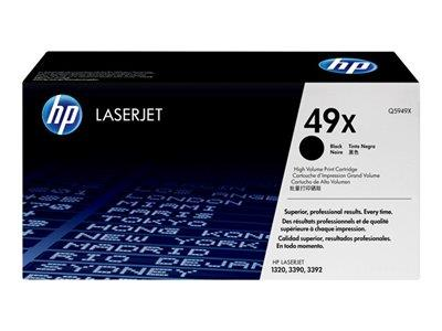 HP 49X High Yield Black Original LaserJet Toner Cartridge