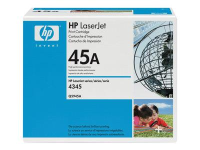 HP 45A Black Original LaserJet Toner Cartridge
