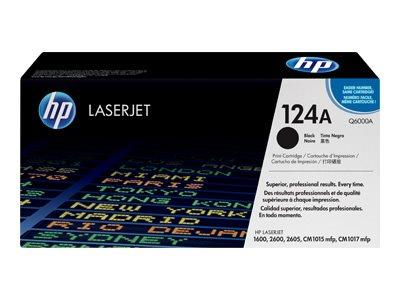 HP 124A Black Original LaserJet Toner Cartridge