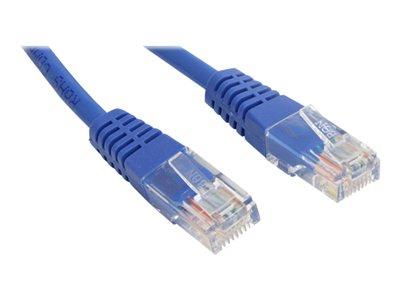 StarTech.com 2 ft Cat5e Blue Molded RJ45 UTP Cat 5e Patch Cable