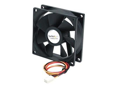 StarTech.com 80x25mm Ball Bearing Quiet Computer Case Fan with TX3 Connector