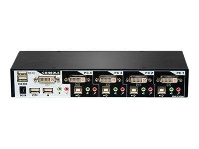 Avocent SwitchView DVI - 1x4 USB DVI KVM Switch