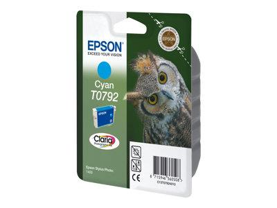 Epson C13T079240A0 Cyan Ink Cartridge for Photo 1400