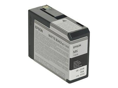 Epson T5808 Black Ink Cartridge