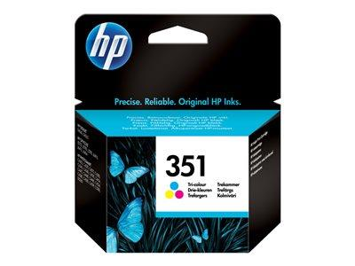 HP 351 Tri-colour Original Ink Cartridge