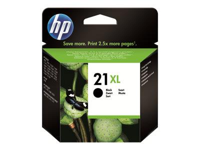 HP 21XL High Yield Black Original Ink Cartridge