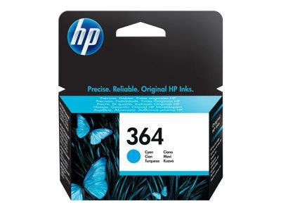 HP 364 Cyan Original Ink Cartridge