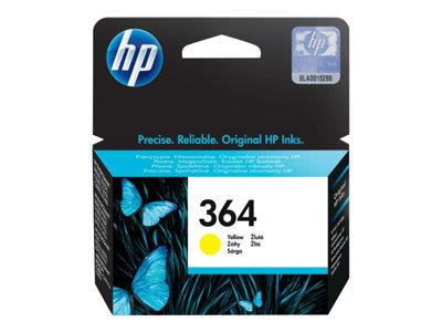 HP 364 Yellow Original Ink Cartridge