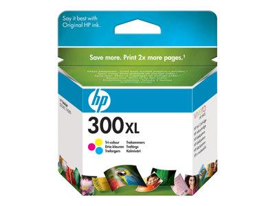 HP 300XL High Yield Tri-colour Original Ink Cartridge