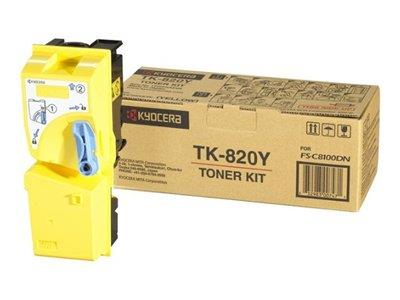 Kyocera Yellow Toner for FS-C8100DN
