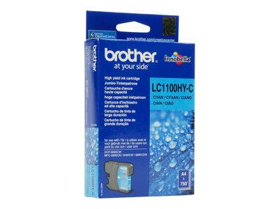 Brother LC1100C - Print cartridge - 1 x cyan