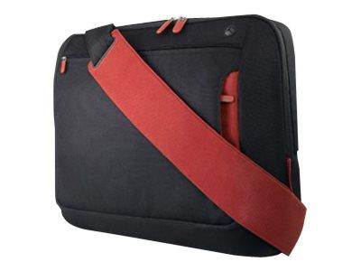"Belkin Messenger Bag for Laptops up to 17"" Black/Red"