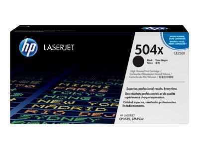 HP 504X High Yield Black Original LaserJet Toner Cartridge
