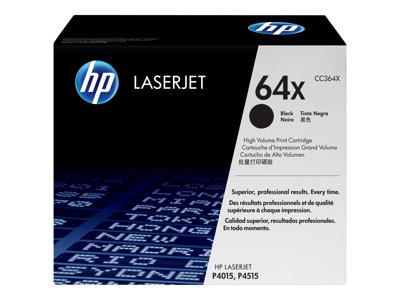 HP 64X High Yield Black Original LaserJet Toner Cartridge