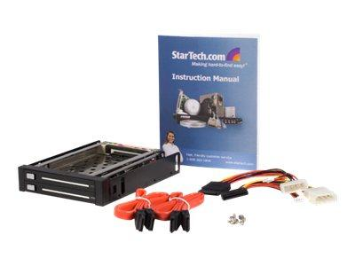 StarTech.com 2 Drive 2.5in Trayless Hot Swap SATA Mobile Rack Backplane