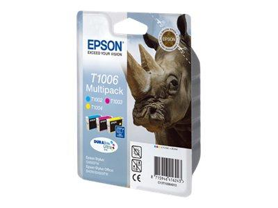 Epson T1006 CMY Ink Cartridges Pack