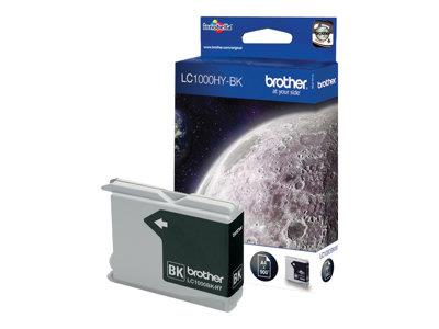 Brother LC1100HYBK - Print cartridge - High Yield - 1 x black